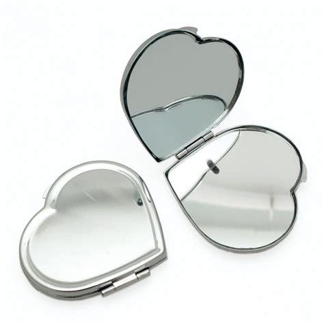 miroir de poche coeur 224 d 233 corer