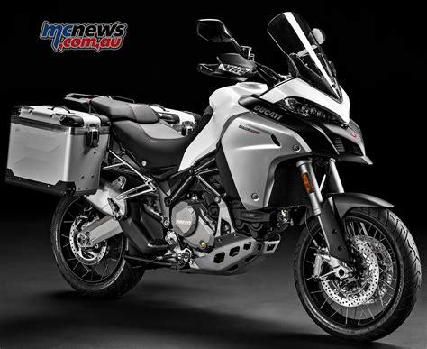 Ducati Multistrada by 2017 Ducati Multistrada Enduro Tweaked Mcnews Au