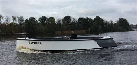 Alu Sloep by Elektrisch Varen Met Aluminium Sloepen Elektrische Boot