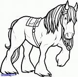 Horse Coloring Pages Clydesdale Friesian Shire Horses Drawing Printable Getcolorings Visit Clipartmag Rearing Sparad Fran sketch template