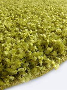 Hochflor Teppich Grün : benuta hochflor teppich swirls gr n 60001044 uni bettvorleger br cke l ufer quad ~ Markanthonyermac.com Haus und Dekorationen