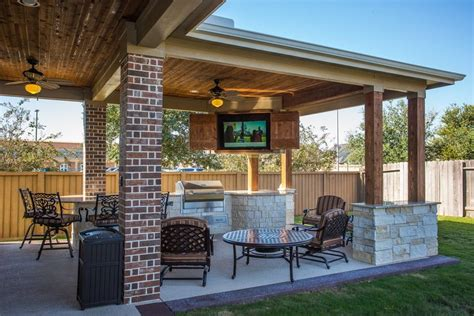 Best Patio Designs by Custom Outdoor Covered Patio Such A Unique Tongue