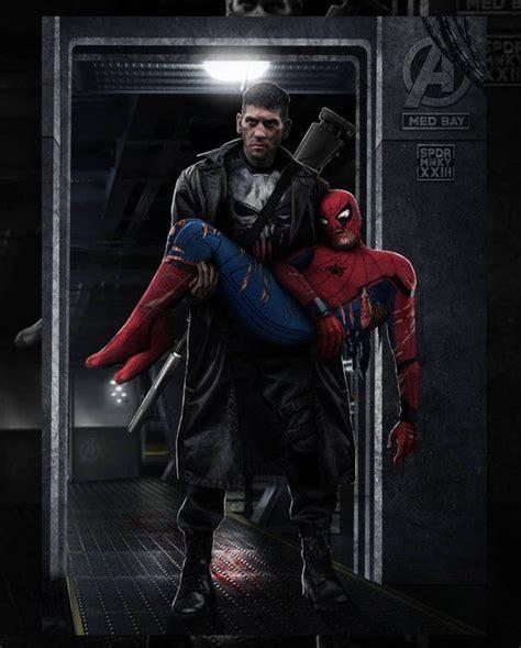 Punisher Saves Spiderman - Civil War #5   Punisher ...