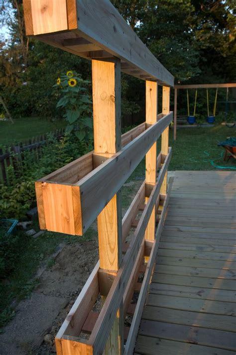 build a vertical garden outdoor planter projects the garden glove