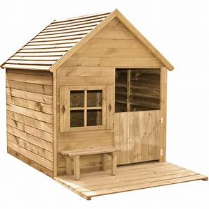 Cabane Enfant Plastique : maisonnette en bois avec toboggan aire de jeux jardin id es cr atives pour les enfants ~ Preciouscoupons.com Idées de Décoration