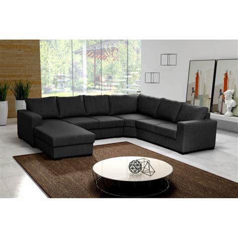 canapé u canapé en u panoramique 6 à 7 places moderne et design