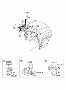 Hyundai Tucson Junction Box Assembly  Pnl  Oct