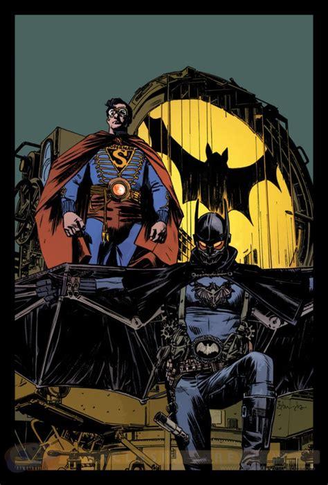 batman superman  variant  tommy lee edwards