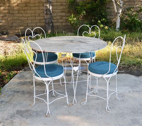 Used Patio Furniture by Modern Outdoor Ideas Metal Patio Furniture Cast Aluminum