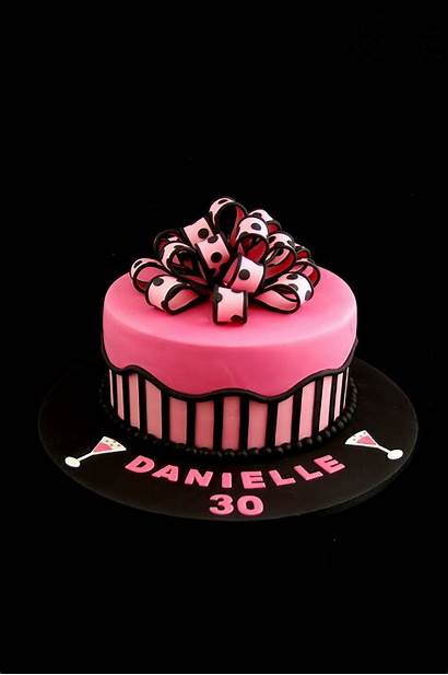 Cakes Cake Pink Birthday 30th 40th Adult