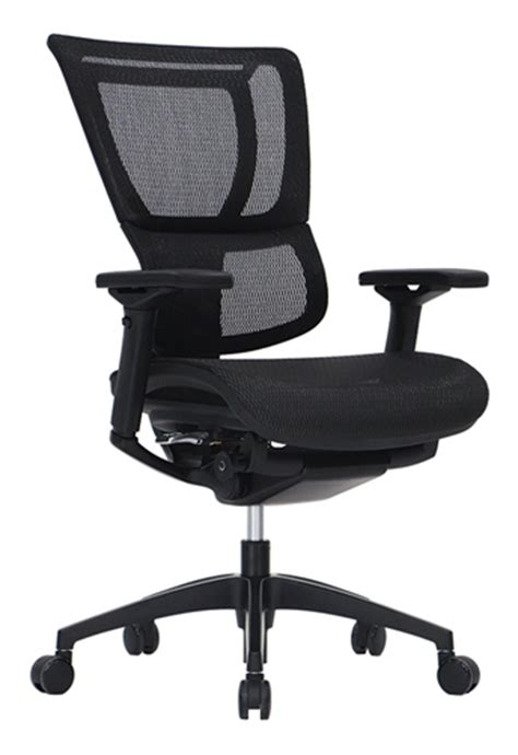 ioo high end ergonomic black mesh office chair by eurotech