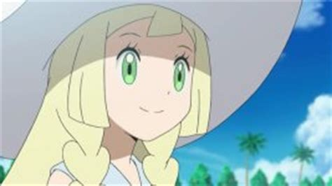 lillie anime character biography serebiinet