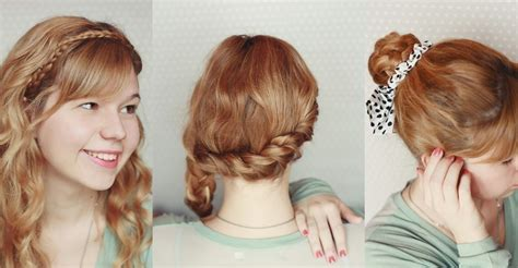 3 Quick And Easy Braided Hairstyles · How To Style A Side