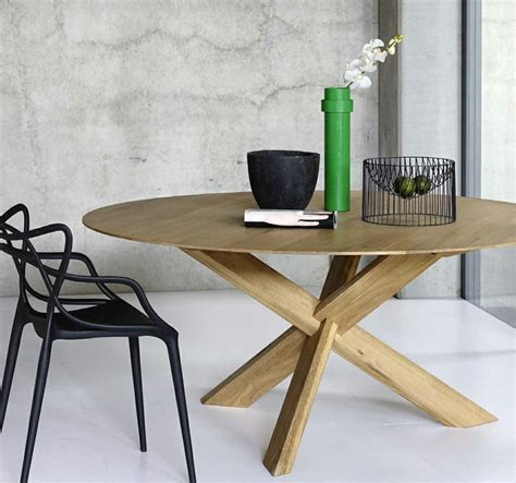 table ronde moderne optez pour la table ronde de design moderne