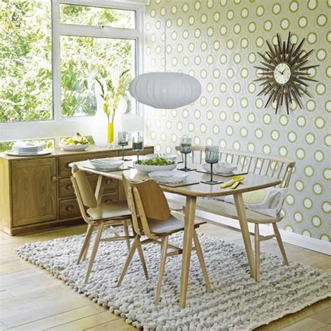 Graphic Dining Room  Dining Rooms  Design Ideas Image