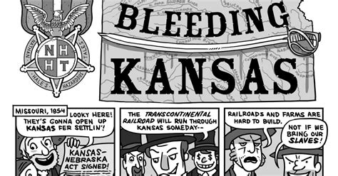 Popular Sovereignty Kansas Nebraska Act Cartoon