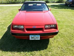 86 Ford Mustang convertible 5.0 5-Speed for sale: photos, technical specifications, description
