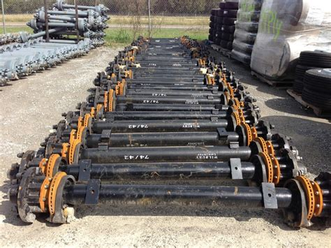 Boat Trailer Axle With Disc Brakes by 12k Hydraulic Disc Brake Trailer Axle The Capacity You