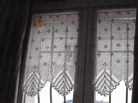 rideaux en crochet patron modele crochet rideau gratuit 6