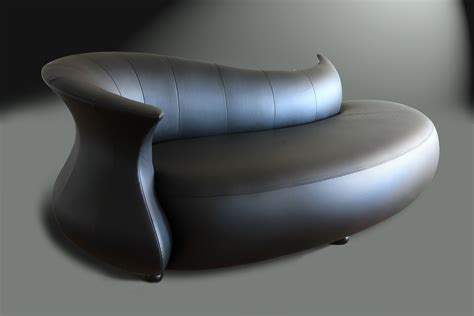 Modern Leather Furniture by Divano Designs Furniture Hora Modern Chaise Lounge