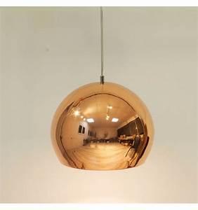 Suspension Boule Cuivre : suspension cuivre design 1xe27 calicia ~ Teatrodelosmanantiales.com Idées de Décoration