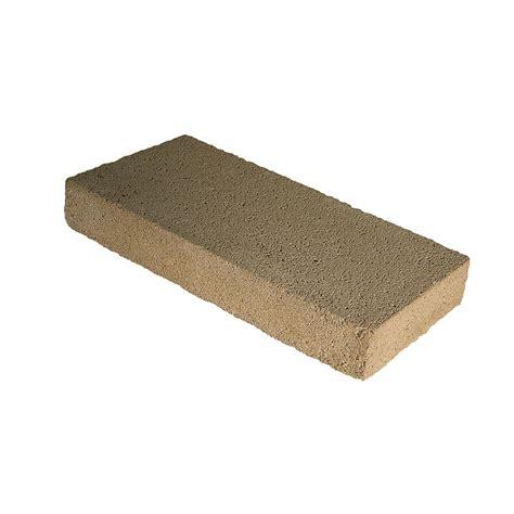 shop cap concrete block common 8 in x 2 in x 16 in
