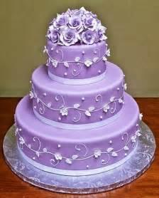 purple wedding cake beautiful bridal purple and white wedding cakes