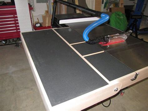 sawstop cabinet saw outfeed table 17 best images about shop table saw on