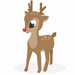 Reindeer SVG cutting files for scrapbooking cute cut files ...