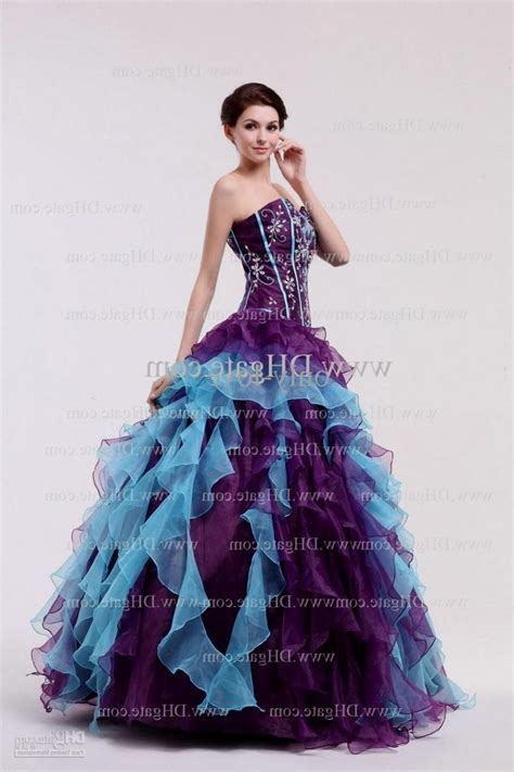 blue and purple wedding dress purple and blue wedding dresses dresses