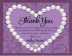Pics Photos Bridal Shower Thank You Wording For Cards Joyful Bride Wedding Stationery Thank You Note Cards Etiquette And Samples Bridal Shower Thank You Notes Thank You Card Templates Bridal Shower Thank You Cards