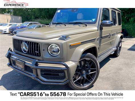 It's utilitarian, rugged and boxy. Pre-Owned 2020 Mercedes-Benz G-Class AMG® G 63 in NY #GP0572 | Ferrari of Long Island