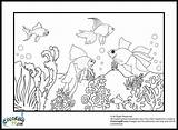 Goldfish Coloring Pages Jawar Colors sketch template