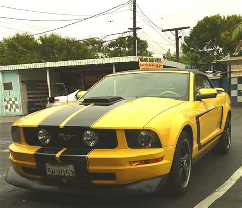 cervinis mustang type  front chin spoiler