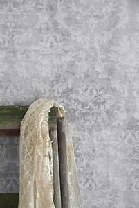 Tapete Muster Grau : vintage tapete grau used look die feenscheune ~ Michelbontemps.com Haus und Dekorationen