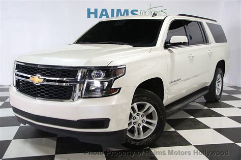 2015 Used Chevrolet Suburban Lt At Haims Motors Serving