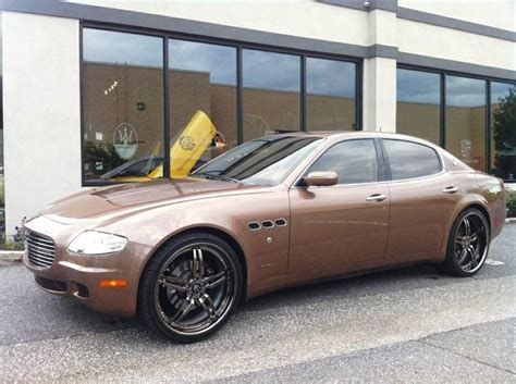 Maserati Quattroporte 2005 by 2005 Maserati Quattroporte Photos Informations Articles