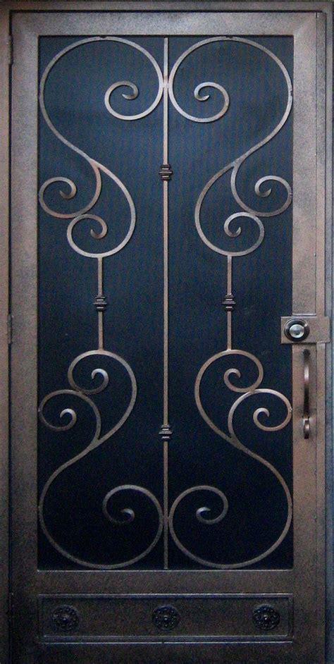 wrought iron security doors security screen doors wrought iron screen doors