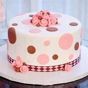 Polka Dot Dreams - Fondant or Easy Icing Cake Decorating ...