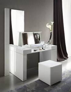 Moderner Schminktisch : meuble coiffeuse en blanc et en d autres couleurs 30 id es ~ Pilothousefishingboats.com Haus und Dekorationen