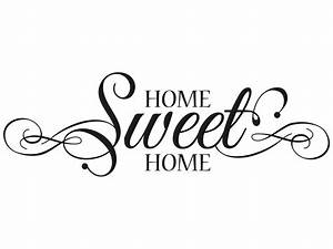 Home Sweet Home Schriftzug : wandtattoo home sweet home schn rkel klebeheld de ~ A.2002-acura-tl-radio.info Haus und Dekorationen