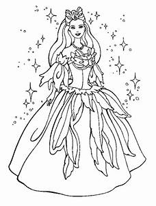 Princess Coloring Page | Coloring Ville