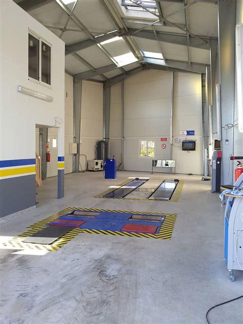 bureau de controle batiment acrotère métallique pour centre contrôle technique dép 13