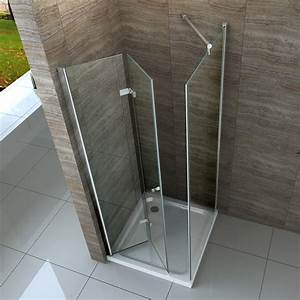 Falttür Mit Glas : helto 100 x 80 cm glas dusche faltt r duschkabine duschwand duschabtrennung ebay ~ Sanjose-hotels-ca.com Haus und Dekorationen