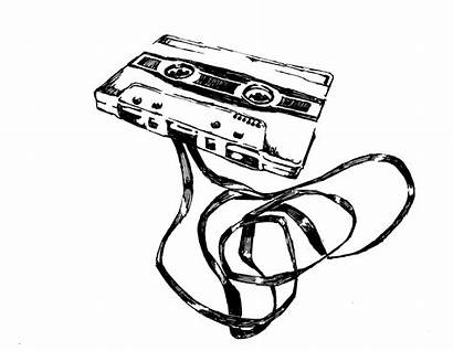 Cassette Tape Drawing Skool Ghetto Drawings 80s