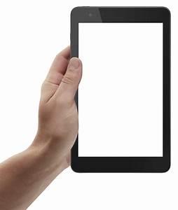 Hand Holding Tablet PNG Image - PngPix