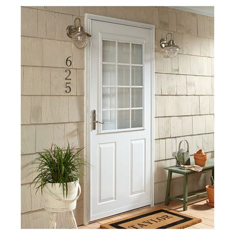 emco 400 series door top self storing traditional colonial doors