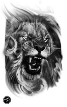 Roaring lion | Tattoo | Lion tattoo, Lion chest tattoo, Tattoos