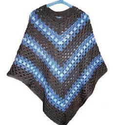 Free Crochet Adult Poncho Pattern