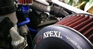 The First Little Car  Apexi Power Intake Pod Air Filter
